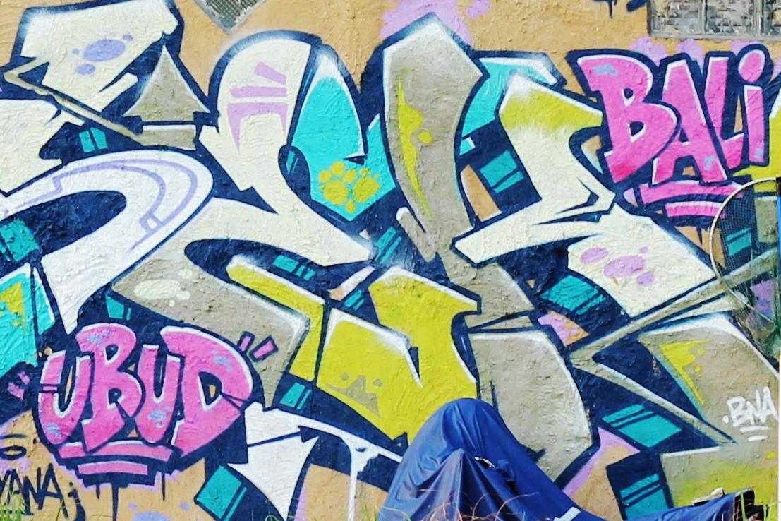 Ubud streetart
