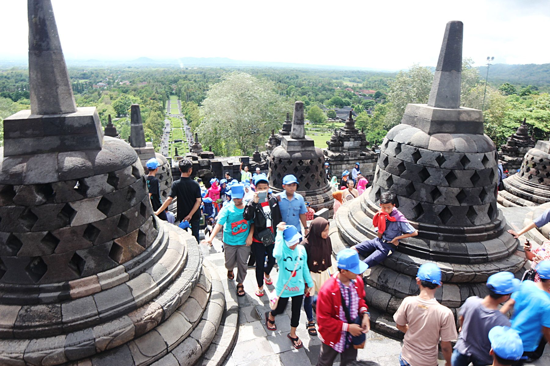 Borobudur, The Oldest Buddhist Temple